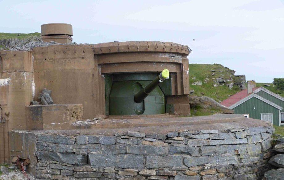 Pevnost Fjøløy, Norsko